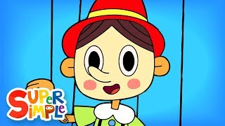 The Pinocchio | Nursery Rhymes | Super Simple Songs
