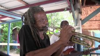 Frank Aird-Joe Isaacs (Studio One): 'Drum Song', The Boat Bar, Negril, Jamaica 2014