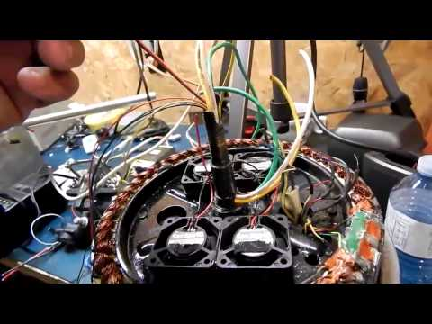 forced air cooled hubmotor part 2* fans wiring*
