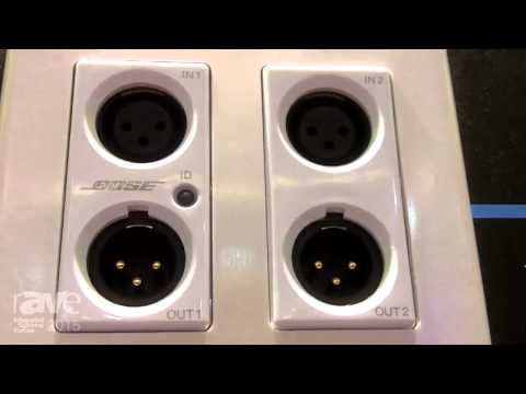 ISE 2015: Bose Tells Us About the New ControlSpace WP22B-D Dante Endpoint