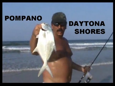 Surf Fishing Daytona Shores Pompano