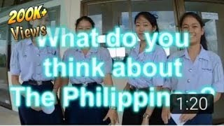 What Thai Students Think About The Philippines