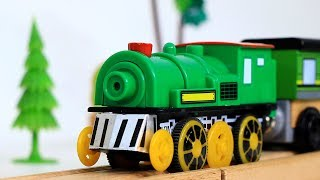 Toy Train for Kids - Toys For Children - قطارات اطفال - Toy Factory - Mašinky - Toy Train - поезда