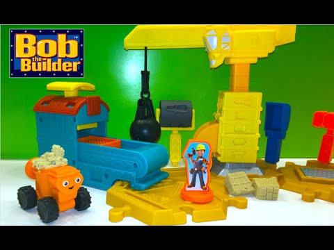 DisneyToysReview the toy channel presents another toy unboxing video: Bob the builder Mash and Mold Construction Site. For more details on this play set or to purchase click here: http://amzn.to/2b...
