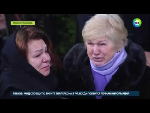 Легенда хоккея: в Москве простились с Сергеем Гимаевым - МИР24