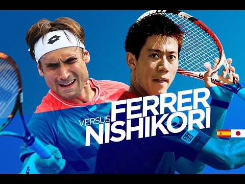 David Ferrer vs Kei Nishikori Highlights HD Australian Open 2015