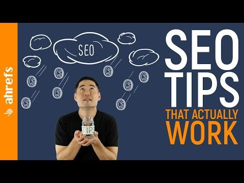 13 SEO Tips That ACTUALLY Work in 2018 and Beyond