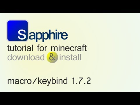 MACRO / KEYBIND MOD 1.7.2 minecraft - how to download and install (with forge)