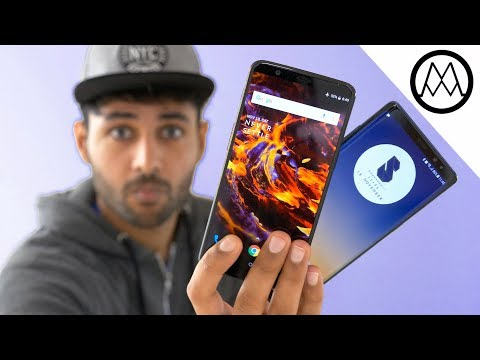 Oneplus 5T vs Samsung Galaxy Note 8!