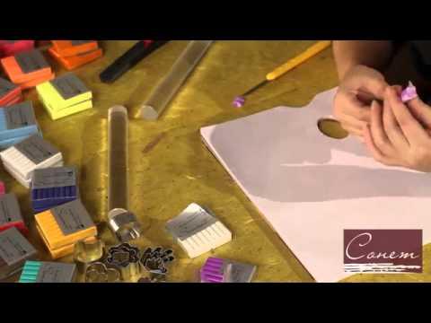Уроки работы с полимерной глиной - видео