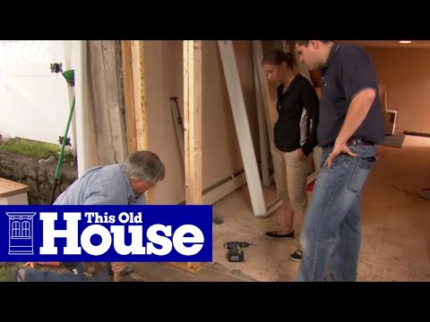 How to install a sliding glass door this old house youtube - Installing a lock on a bedroom door ...