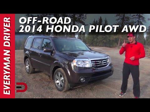 honda pilot wd  road review  everyman driver youtube