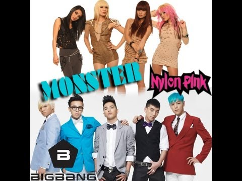 Bigbang Cover - Monster (cover By nylonpink) Featuring scottythekid Monster By Bigbang video