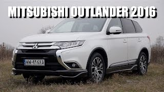 Mitsubishi Outlander 2016 (ENG) - Test Drive and Review (re-upload)