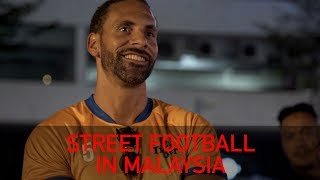 Playing Street Football in Malaysia | Rio Vlogs