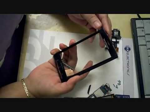 Sony Ericsson Experia x10 disassembly