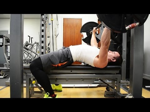 Quick Tip - Bench Press With Leg Drive Image 1