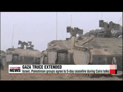 Israel, Palestinians begin fresh 5-day ceasefire