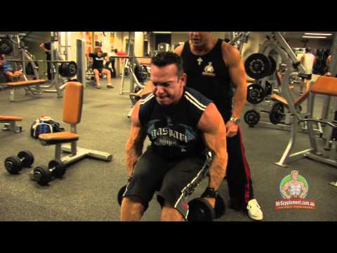 Rich Gaspari - Side Dumbbell Lateral Raise Image 1