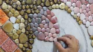 Мозаика в ванной комнате (сделай сам)