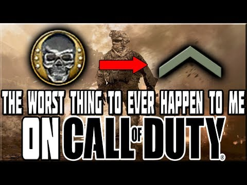 WORST THING TO EVER HAPPEN TO ME ON CALL OF DUTY!