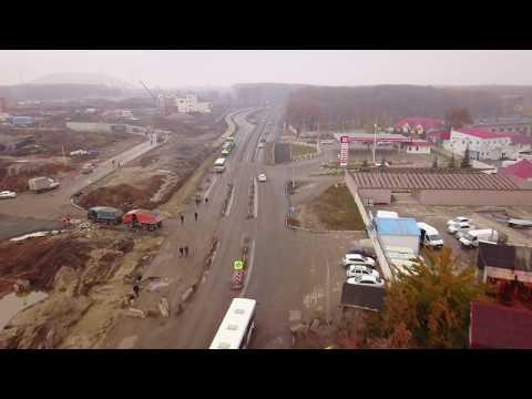 Реконструкция Волжского шоссе 22.10.2017 г. Самара