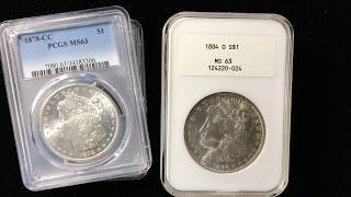 Coinflation or gradeflation explained. Coin definitions. PCGS rattlers and NGC fatties.