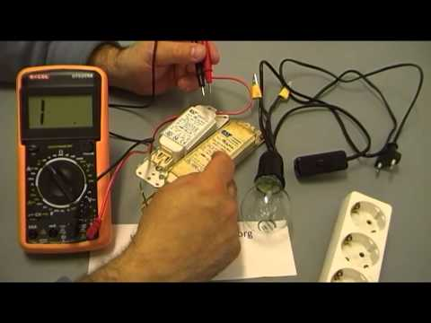 COMO COMPROBAR REACTANCIAS CON POLIMETRO Y CABLE TEST VIDEO 1 de 2