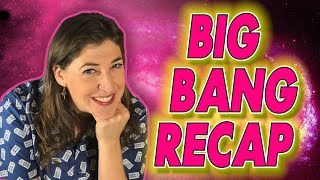 Big Bang Recap - The Celebration Reverberation || Mayim Bialik