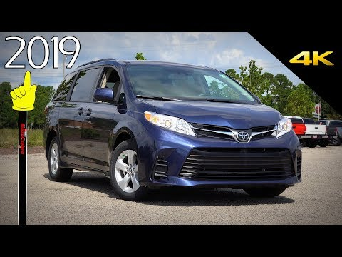 2019 Toyota Sienna LE - Ultimate In-Depth Look in 4K