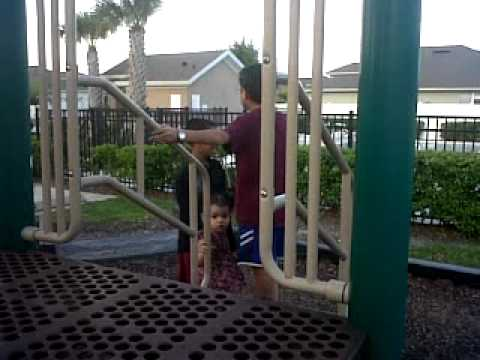 the kidz at the park  early 2010