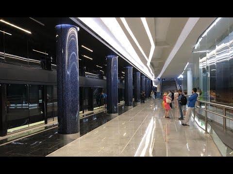 Станция Новокрестовская НВЛ. Новое метро к FIFA 2018