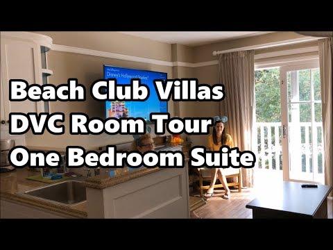 Beach Club Villas | Disney Vacation Club Room Tour | One Bedroom Suite | Walt Disney World