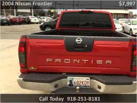 2004 Nissan Frontier Used Cars Broken Arrow OK