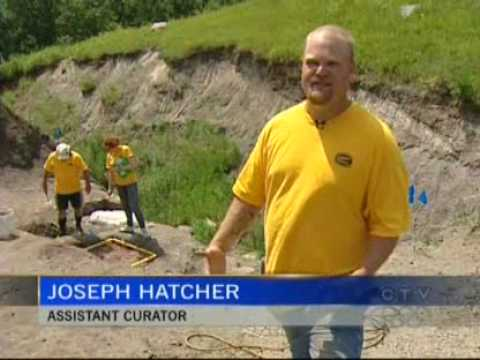 Canadian Fossil Discovery Centre - Media Coverage by CTV Video