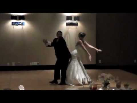 Best Father Daughter Wedding Dance (dougie, Wobble, Stanky Leg, Bernie) video