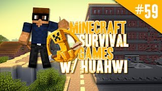 Minecraft Survival Games w/ Huahwi #59: Naked Challenge!