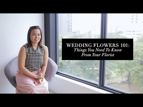 Wedding Flowers 101: Things You Need to Know from Your Florist