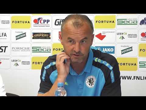 Tisková konference FC Hradec Králové před sezonou 2018/2019