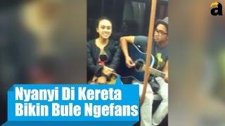 Viral! Dua Orang Indonesia Bikin Heboh Kereta Di Eropa