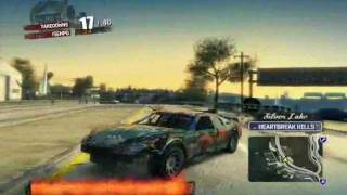 Burnout Paradise Gameplay on XFX HD 5670