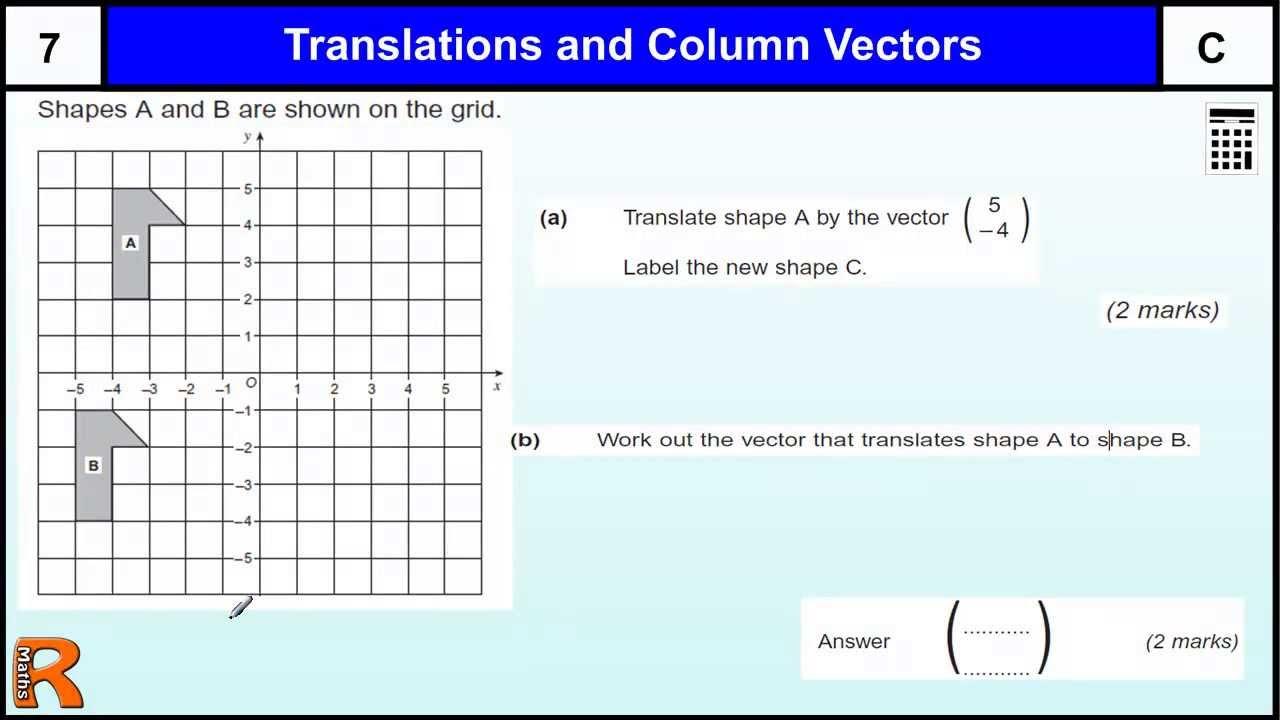 leçon Les Vecteurs  Cours Seconde Maths