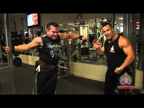 Rich Gaspari - Cable Side Lateral Raise Image 1