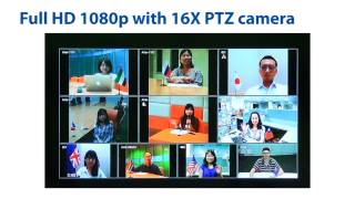 EVC900 Full HD Video Conferencing System Intro Video