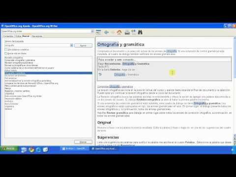 OpenOffice - Curso de OpenOffice - Uso de la documentación y la ayuda