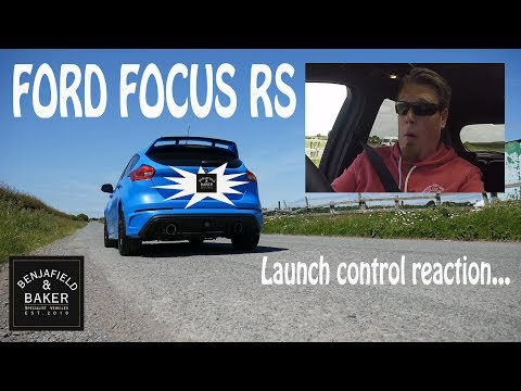 Ford Focus RS- Launch control reaction