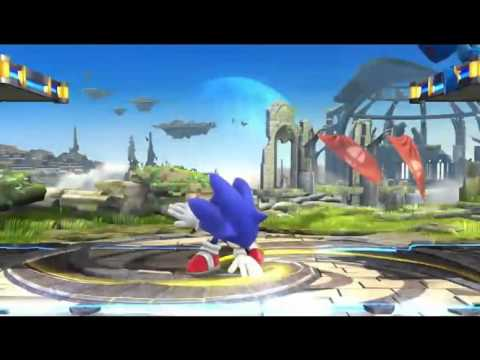 Sonic Confirmed in Super Smash Bros. Wii U/3DS! (Nintendo Direct 10/1/13)