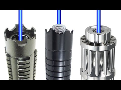 Blue 1 Watt Lasers: Wicked Arctic vs Thor M2 vs Chinese Laser