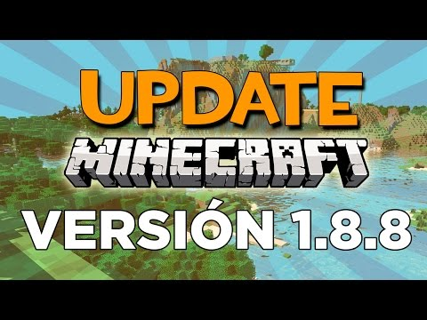 MINECRAFT 1.8.8 UPDATE REVIEW   IMPORTANTE NUEVA VERSION MINECRAFT 1.8.8 EN ESPAÑOL   Rovi23