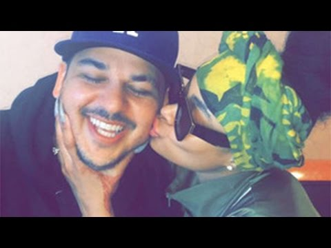Rob Kardashian & Blac Chyna Are Having A Boy